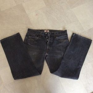 """501 100% cotton button fly 32x30"""" jeans"""